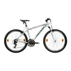 Gepida Mundo alu 26-es MTB kerékpár, 21s, 17 col, fehér