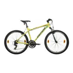 Gepida Mundo alu 26-es MTB kerékpár, 21s, 19 col, sárga