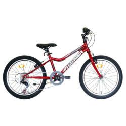 Hauser Fox Uni 20-as gyerek kerékpár, 6s, bordó