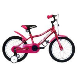 Hauser Puma 16-os BMX kerékpár, sötét rózsaszín