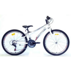 Hauser Wolf 24-es fiú kerékpár, 18s, acél, fehér