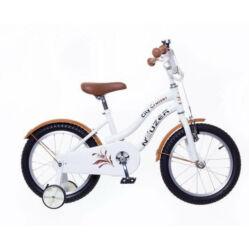 Neuzer Cruiser 16-os gyerek kerékpár, fehér
