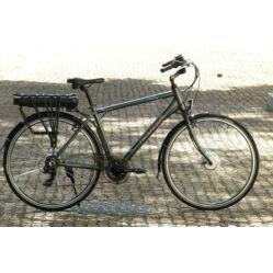 Neuzer E-Trekking férfi 28-as pedelec trekking kerékpár, 250W, 19-es, 6s, antracit