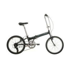 Neuzer Folding Sport összehajtható 20-as városi kerékpár alumínium, 7s, fekete