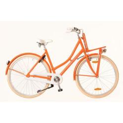 Neuzer Mary 28-as női városi kerékpár, 1s, alu, 21-es, narancs