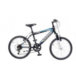 Neuzer Mistral 20-as fiú kerékpár, alumínium, 6s, fekete-kék-fehér