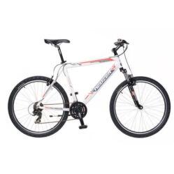 Neuzer Mistral 50 férfi hobbi 26-os MTB kerékpár, 21 seb., alumínium, 17-es vázméret  fehér-szürke-piros