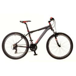 Neuzer Storm férfi 26-os MTB kerékpár, 21s, alumínium, 19-es, fekete-szürke-piros