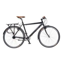 Neuzer X-Street férfi 28-as trekking kerékpár, agyváltós (8s), alumínium, 21-es, fekete-fehér