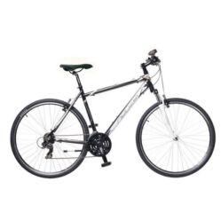Neuzer X1 férfi 28-as cross kerékpár, 21s, alumínium, 17-es, fekete-fehér-bronz