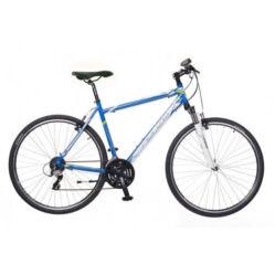 Neuzer X2 férfi 28-as cross kerékpár, 24s, alumínium, 17-es, kék-fehér-zöld