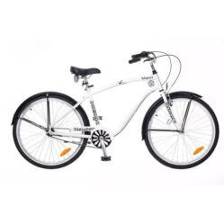 Neuzer Maori 26-os férfi cruiser kerékpár, agyváltós (3s), fehér