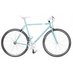 Neuzer Skid férfi 700c fixi-single speed kerékpár, acél, 57 cm, celeste-fehér