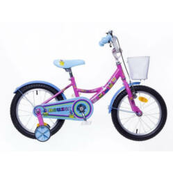 Neuzer 16-os BMX lány kerékpár, rózsaszín