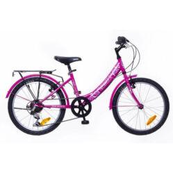 Neuzer Cindy City 20-as, 6 sebességes lány kerékpár, rózsaszín