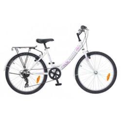 Neuzer Cindy City 24-es lány kerékpár, fehér