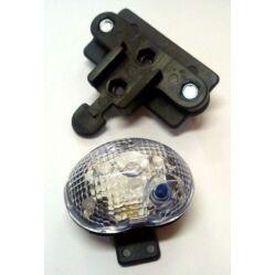 Jing Yi JY-235W első lámpa kosárra, 1 LED