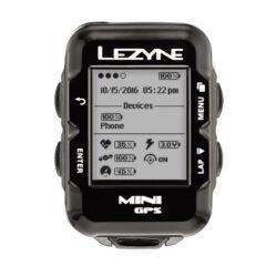 Lezyne Mini GPS HR vezeték nélküli komputer, ANT+, Bluetooth Smart, pulzusmérővel