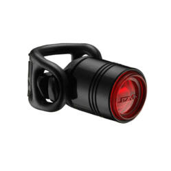Lezyne Femto Drive hátsó gumipántos lámpa, 7 lumen, elemes, fekete