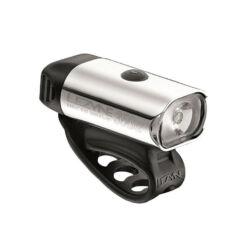 Lezyne Hecto Drive 350XL USB-ről tölthető első lámpa, 350 lumen, ezüst