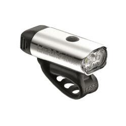 Lezyne Micro Drive 450XL USB-ről tölthető első lámpa, 450 lumen, ezüst