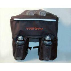 Trinity három részes túratáska hátsó csomagtartóra, 50L, fekete