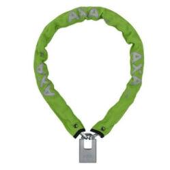 Axa Clinch láncos lakat, 85 cm x 6 mm, zöld