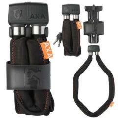 Axa Foldable 800 összehajtható kerékpár lakat, 100 cm x 6 mm, vázkonzollal, sötét szürke