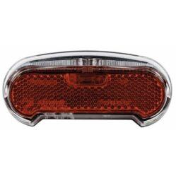 Axa Riff dinamós LED hátsó lámpa csomagtartóra, állófény funkcióval, 50-80 mm