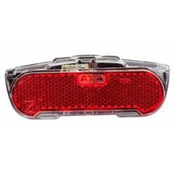Axa Slim dinamós LED hátsó lámpa csomagtartóra, állófény funkcióval, 80 mm