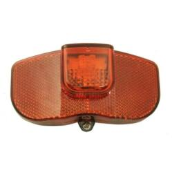 Dinamós LED hátsó lámpa csomagtartóra, állófény funkcióval