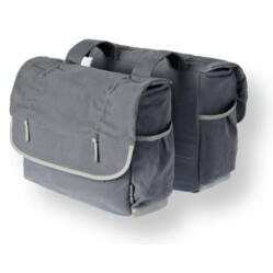 Basil Elements kétrészes táska csomagtartóra, kék