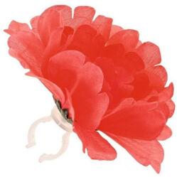 Basil Peony Flower virágos kormánydísz, rózsaszín