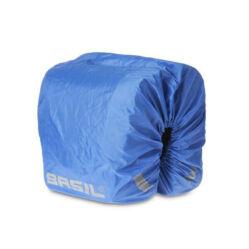 Basil Sport Design kétrészes táskához esővédő, kék