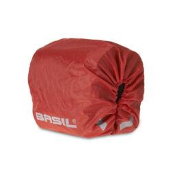 Basil Sport Design kétrészes táskához esővédő, piros