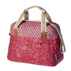 Basil Boheme Carry All egy részes táska csomagtartóra, 18L, piros