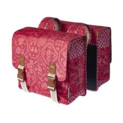 Basil Boheme két részes táska csomagtartóra, 35L, piros