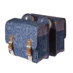 Basil Boheme két részes táska csomagtartóra, 35L, sötétkék