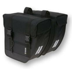 Basil Tour Double Bag két részes táska csomagtartóra, 26L, fekete