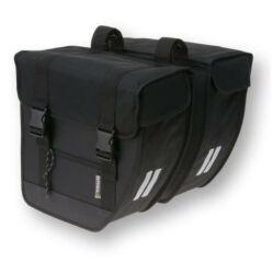 Basil Tour XL két részes táska csomagtartóra, 40L, fekete