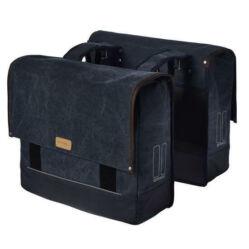 Basil Urban Fold két részes részes csomagtartó táska, 42-55L, kék