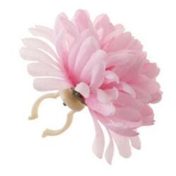 Basil Dahlia Flower virágos (dália) kormánydísz, halvány rózsaszín