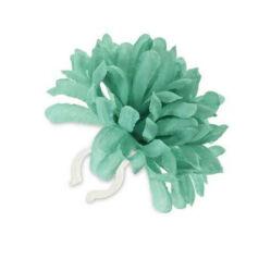 Basil Dahlia Flower virágos (dália) kormánydísz, zöld