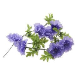 Basil Peony Flower Garland virágos girland dísz kosárra, lila