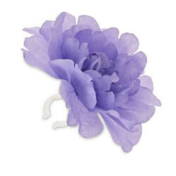 Basil Peony Flower virágos (rózsa) kormánydísz, lila