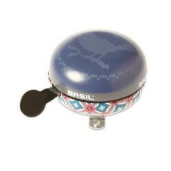 Basil acél csengő, 80 mm, kék - Boheme Jáde