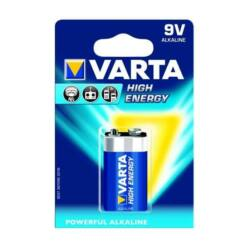 Varta High Energy 9V elem, 1 db