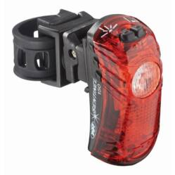 NiteRider Sentinel™ 150 hátsó lámpa nyeregcsőre, 150 lumen, USB-ről tölthető, fekete