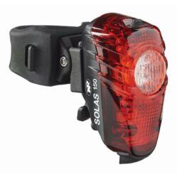 NiteRider Solas™ 150 hátsó lámpa nyeregcsőre, 150 lumen, USB-ről tölthető