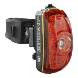 NiteRider CherryBomb™ 35 hátsó lámpa nyeregcsőre, 35 lumen, elemes